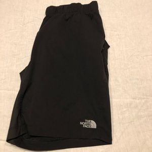 North Face dry fit athletic shorts